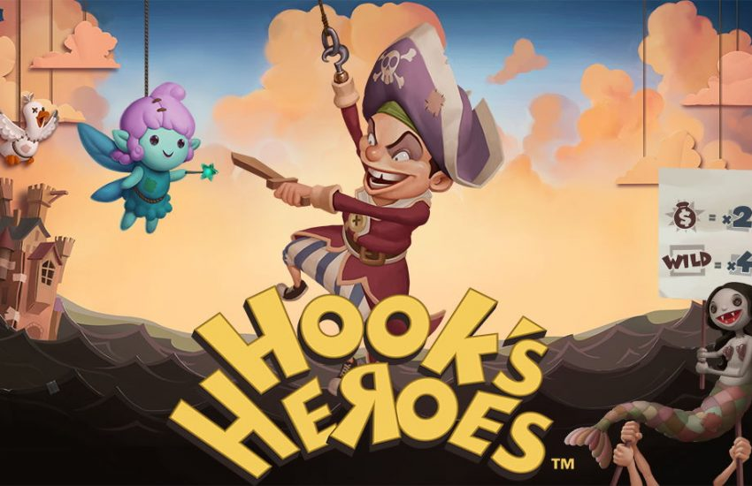 Hooks Heroes videoslot netent